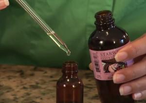Psoriasis massage oil