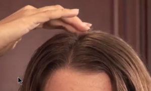 rosemary top of head