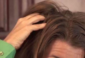 Rosemary scalp massage